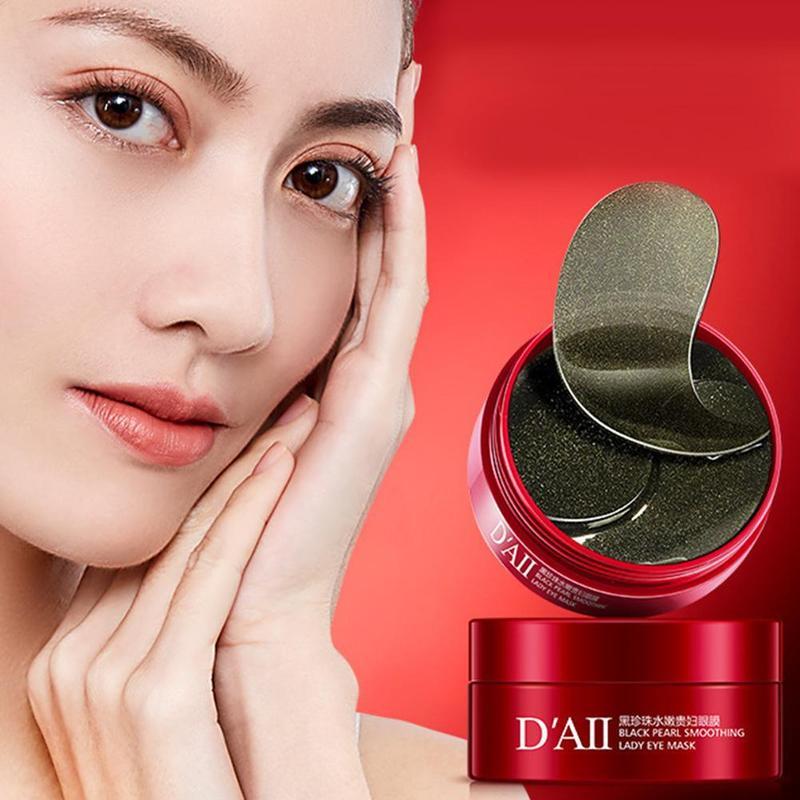 60Pcs Gold Crystal Eye Mask Anti Wrinkle Collagen Eye Patches  Skin Care Eye Care Dark Circles Remove Eye Mask Gel