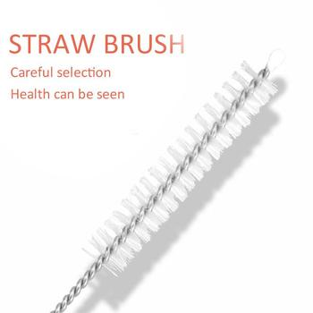 Brush 22.5*1cm Wedding Milk Water Pipette Brush Reusable Stainless Steel Restaurant Party Supplies Cocktail Kitchen Tool image