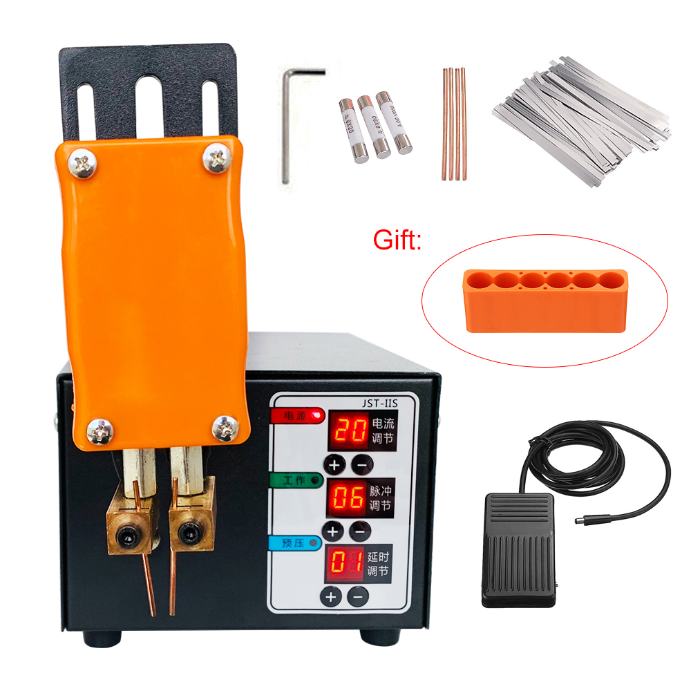 Tools : JST Pulse Spot Welder Machine 18650 Lithium Battery Spot Welder 3KW High Power Will Not Trip The Battery Welding Thickness 0 2mm