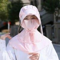 Yeni Anti-sprey şapka çıkarılabilir maske kap kullanımlık maskeleri güneş koruma şapkası Anti-damlacıkları maskesi güneş şapkası yetişkinler ve çocuklar için