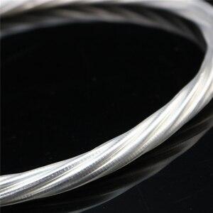 Image 5 - Cable de alimentación HIFI de alta gama, cable de alimentación con enchufe US, EU, IEC, 3 pines, 2 pines