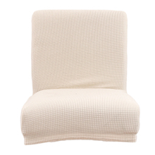 Jacquard Stretch Chair Cover Slipcovers for Low Short Back Chair Bar Stool Chair