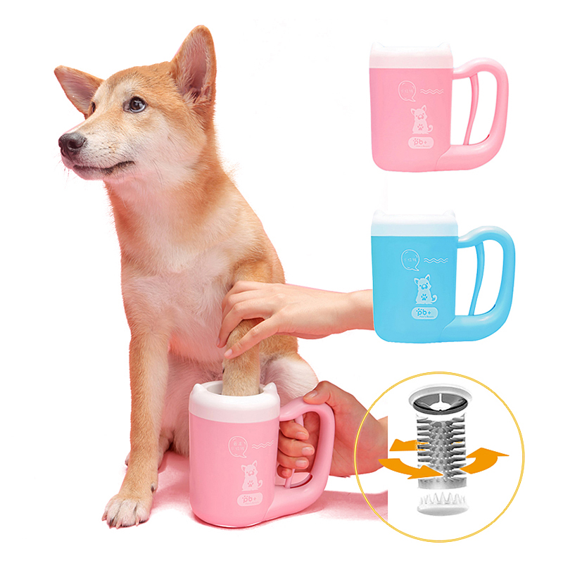 Dog Paw Cleaner Portable Dirty Paw Washer For Dogs 15-45 Lb Soft Silicone Pet Paw Cleaner Dog Paw Cleaning Cup Pet Grooming