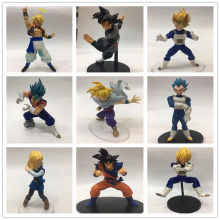Dragon Ball Verlichting Geeta Zwart Haar Goku No.1 18 Cyborg Vegeta Vegetto Gohan Garage Kit(China)