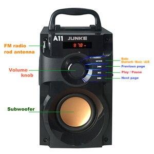 Image 3 - JUNKE 2.1 haut parleurs stéréo et Subwoofer Bluetooth haut parleur Portable sans fil haut parleur Mp3 système de son colonne dordinateur