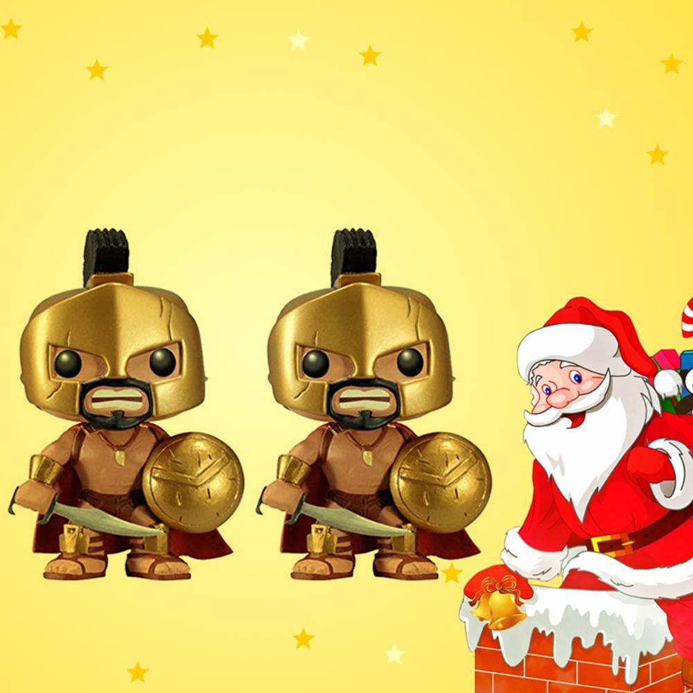 Король Леонид 16 #300 фильм Спарта Виниловая фигурка Коллекционная модель игрушки для детей Рождественский подарок
