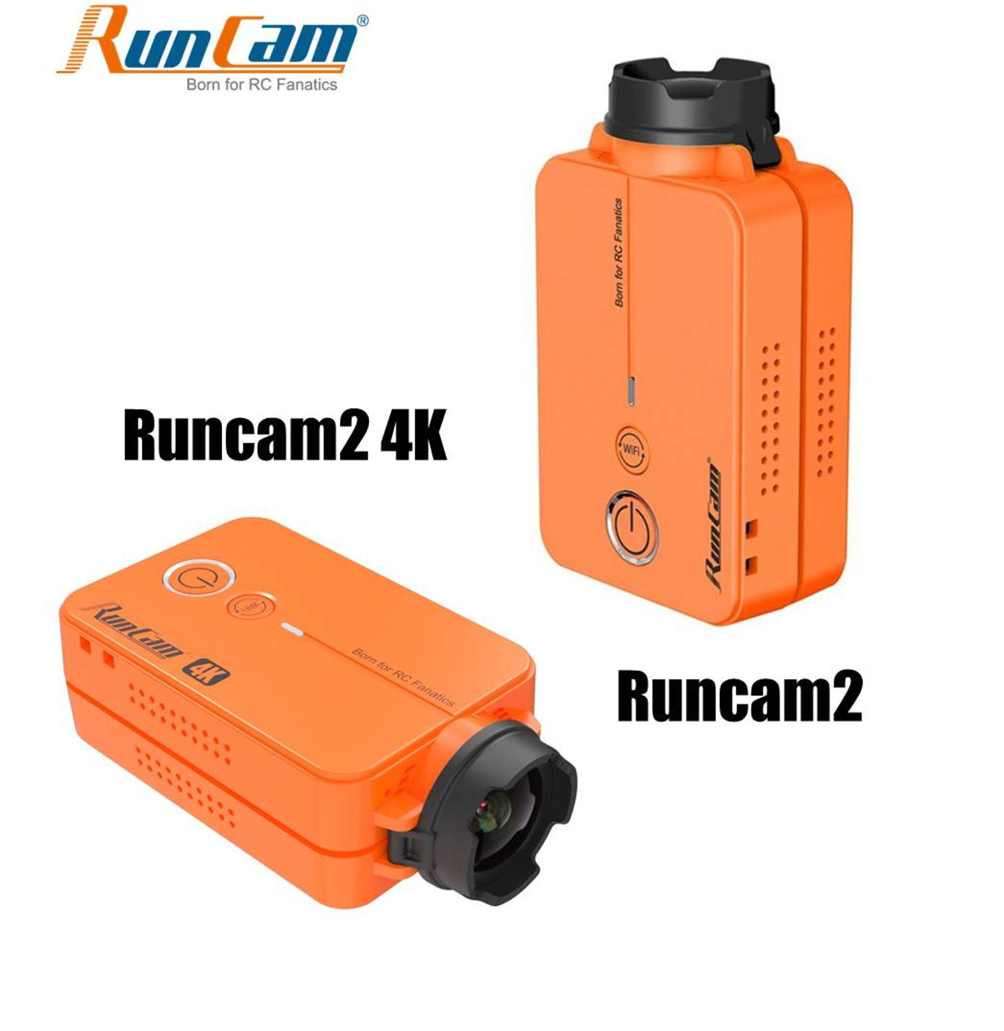 RunCam 2 HD Runcam2 4K Edition 1080P 120 Degree Wide Angle WiFi Sport Camera