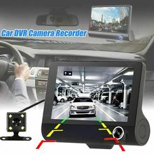 Car DVR Cameras Lens 4.0 Inch Dash Camera Dual With Rear Video Recorder Auto Cam Dvrs Registrator