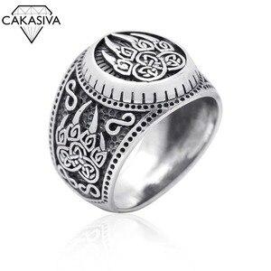 Креативный Викинг медведь кольцо в виде лапы нордический миф медведь коготь ретро 925 серебряное кольцо
