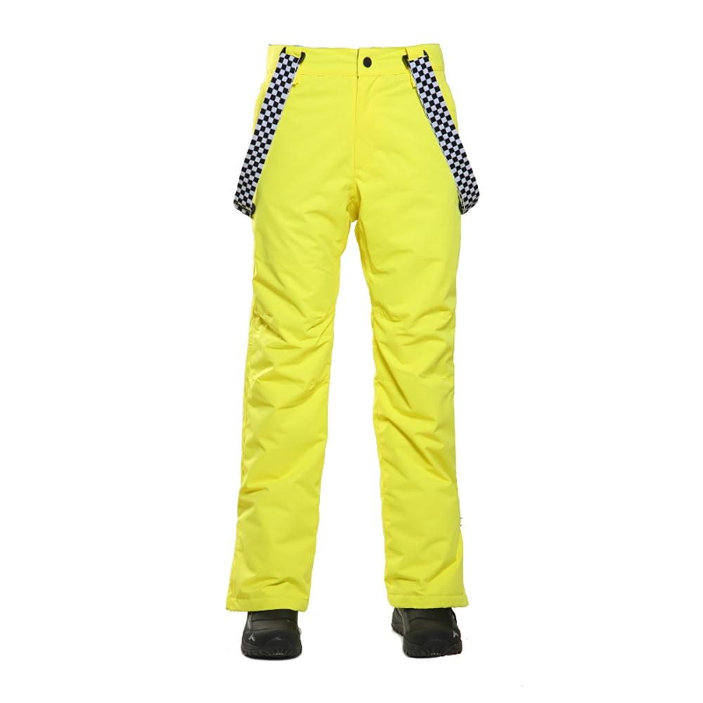 SIMAINING hommes pantalon de Ski imperméable coton hiver chaud Snowboard neige pantalon de Ski en plein air pantalon de Ski pour les hommes - 3
