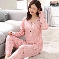 Женская пижама новые женские пижамы теплая пижама женская мультяшная одежда для сна милые милая домашняя одежда с длинными рукавами Женски...