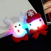The Best Christmas Headband Light Up Hat Glasses Pen Brooch Accessories Decoration For Party Holiday 889