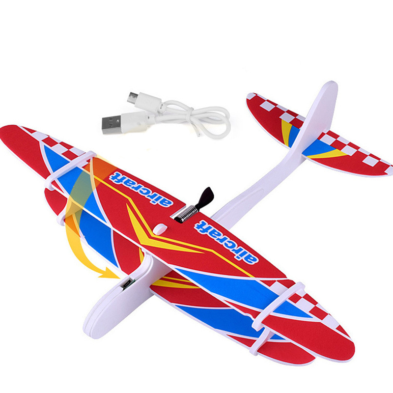 Condensateur d'avion en mousse EPP Durable, pour enfants, ensemble d'avions, bricolage, bricolage, modèle d'avion, planeur, jouets d'anniversaire pour enfants 2