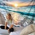 Морской пейзаж волны океана гобелен хиппи богемный принт настенный домашний декор новый!