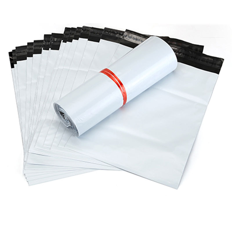 100Pcs/Lot Courier Bags 13cm*24cm White PA PE Mailing Bags Envelope Self-seal Adhesive Seal Plastic Pouch Storage Bags