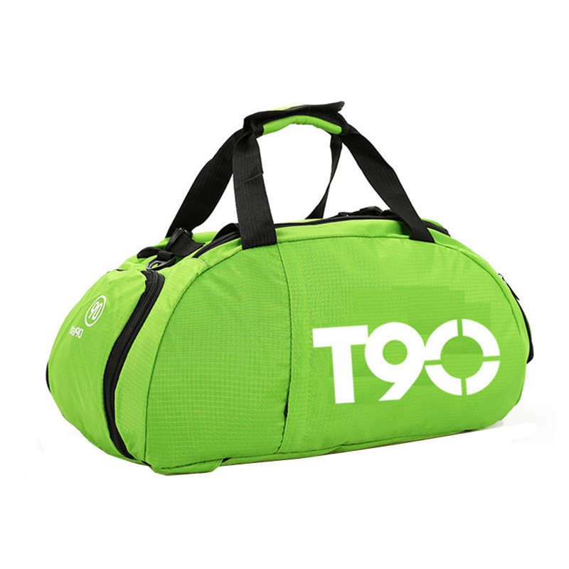 Image 5 - 2019 New T90 Men Sport Gym Bag Women Outdoor Gym Fitness Bags Separate Space for Shoes Pouch Rucksack Hide BackpackGym Bags   -