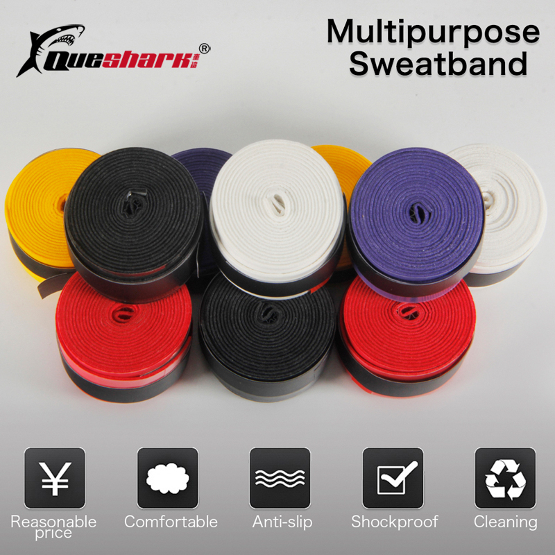 10 Pcs Colorful Coated Tennis Overgrips Badminton Grips Breathable Tennis Racket Tapes Fishing Rod Sweatbands
