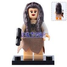 20pcs The Wars Tooper Cunner Anakin Skywalker Mon Mothma Princess Leia Obi-Wan Kenobi Building Blocks Children Toys X0144