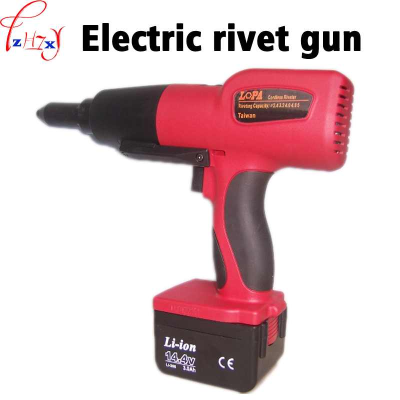 DC 14.4V Lithium Electric Charging Riveting Gun XDL-200M Electric Riveting Gun Quick Core Riveting Gun Tool