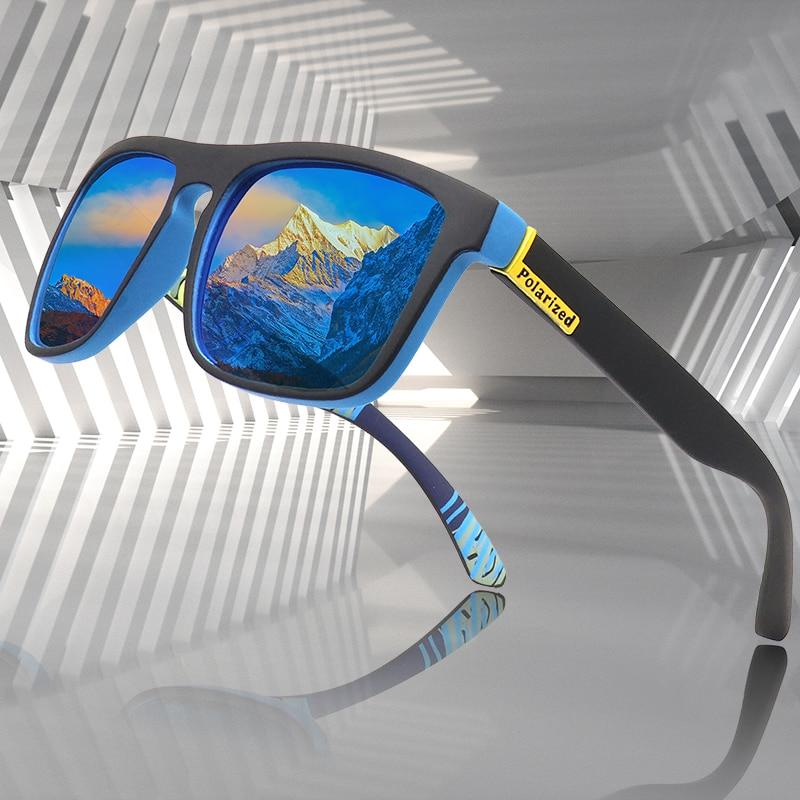 2020 New Fashion Guy's  Polarized Sunglasses Men  brand designer Vintage Classic Mirror Fashion Square Ladies Sun glasses Men
