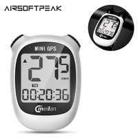 M3 Outdoor Mini GPS Bike Computer Wireless Cycling Computer Bicycle Speedometer Odometer Waterproof with LCD Display Navigation