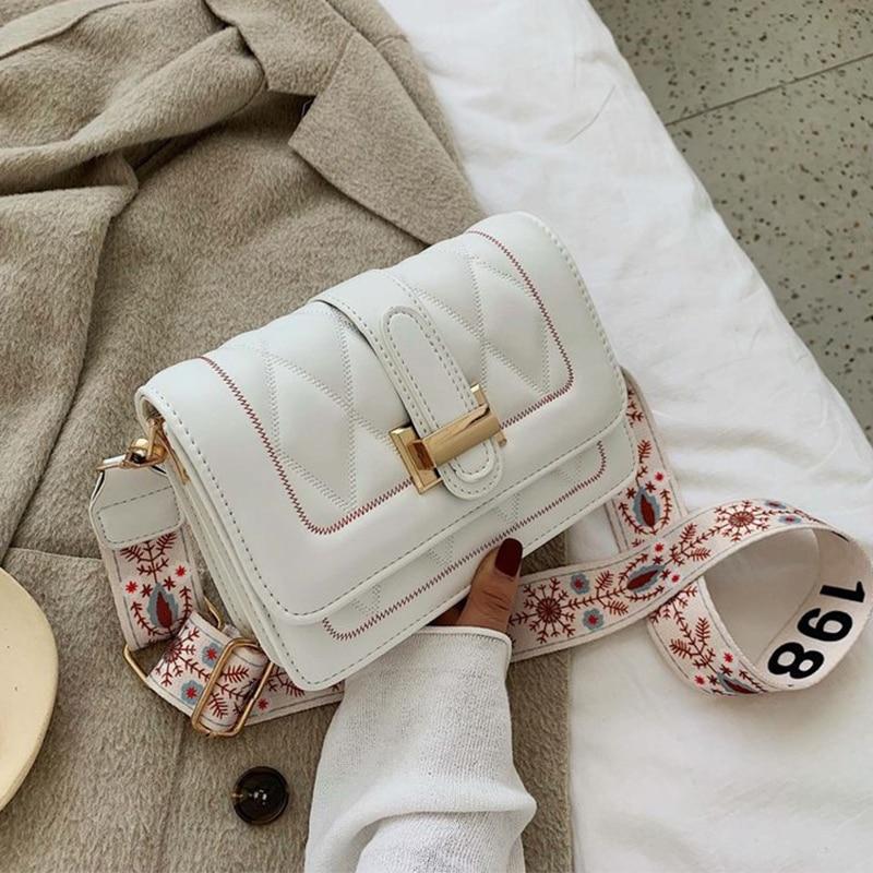 Fashion Women Designer Shoulder Bag High Quality PU Leather Female Brand Totes Female White Crossbody Bag For Women Handbag 2020