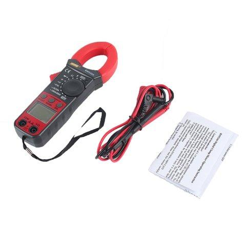 Handheld Digital Clamp Meter Multímetro 1999 Contagem ac – dc Volt Amp Ohm Capacitância Fase Diode Continuity Tester Amperímetro Bm5266 Mod. 166880