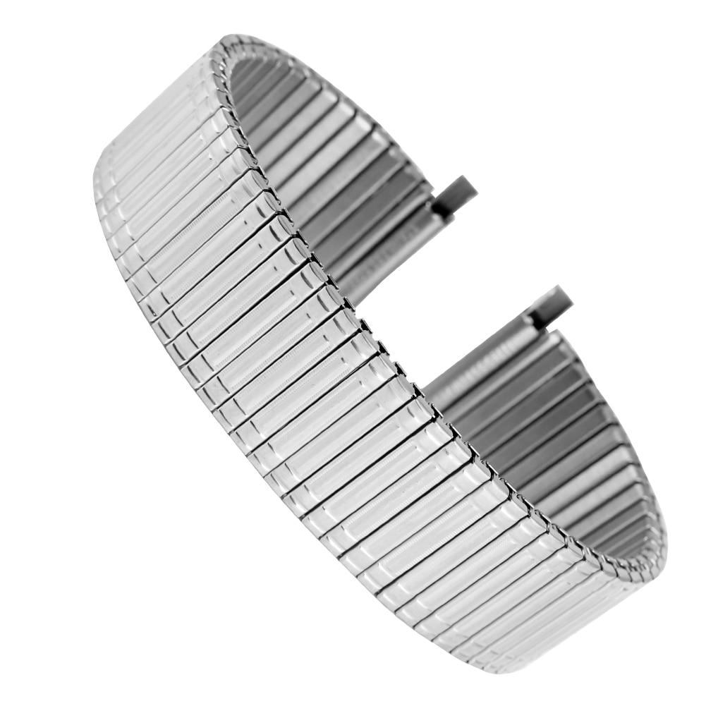In Acciaio Inox Cinturino di Vigilanza 22 MILLIMETRI Pratico Nessuna Fibbia 18 MILLIMETRI Cinturino Elastico 20 MILLIMETRI In Metallo di Ricambio 16MM Orologio Da Polso braccialetto