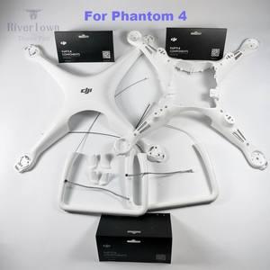 Image 2 - Originele Merk Nieuwe Dji Phantom 4 Body Shell/Landingsgestel Bovenste Bodem Licht Cover Schroef Set Voor P4 Drone reparatie Onderdelen