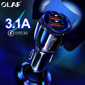 Olaf Car USB Charger Quick Cha