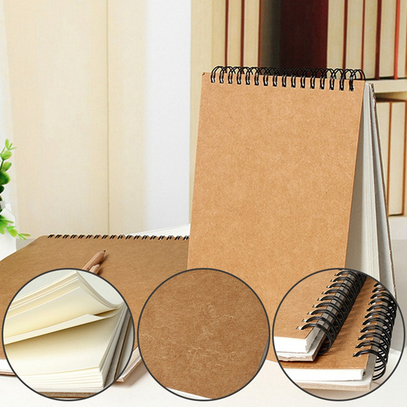 A5 Watercolor Drawing Art Paper Sketch Book Portable Sketchbook Graffiti Hand Painting Notebook