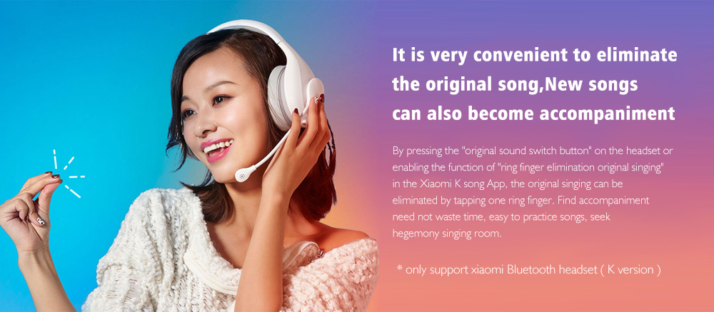 Xiaomi Bluetooth Headphone K-song Version 10