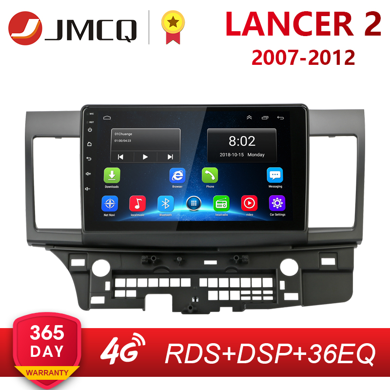 Android 2G+32G Car Radio for Mitsubishi Lancer 2007-2012 10 Inch 4G NET+WiFi RDS DSP Video Audio Multimedia 2 Din Dvd Player