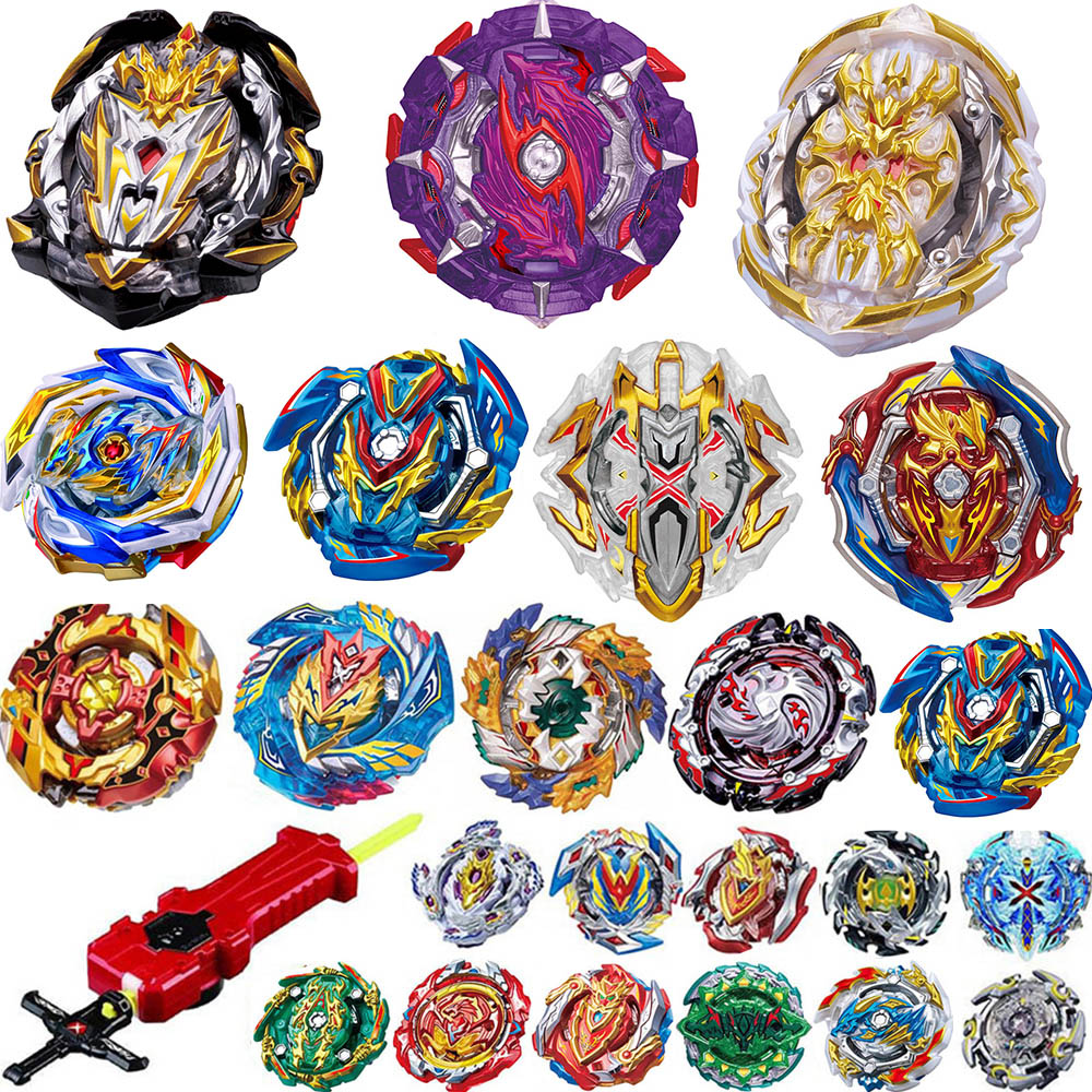 New <font><b>Beyblade</b></font> Burst GT Toys <font><b>B</b></font>-154 <font><b>B</b></font>-153 <font><b>B</b></font>-151 bables Toupie burst Metal Fusion God Spinning Top Bey Blade Blades Toy image