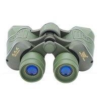 50X50 Outdoor Hunting Green Binoculars Telescope Low Light Level Night Vision Bird Watching Mirror Telescopio Children Toys