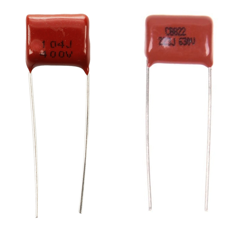 200PCS CBB22 124J 1000V 0.12UF 120NF P15 Metallized Film Capacitor