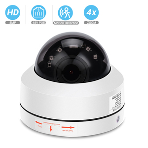 Image 1 - BESDER 5MP PTZ 4X Zoom optyczny prędkość kamera IP kopułkowa 3MP 1080P Full HD ONVIF P2P 40m noktowizor metalowa wodoodporna kamera PTZ IP