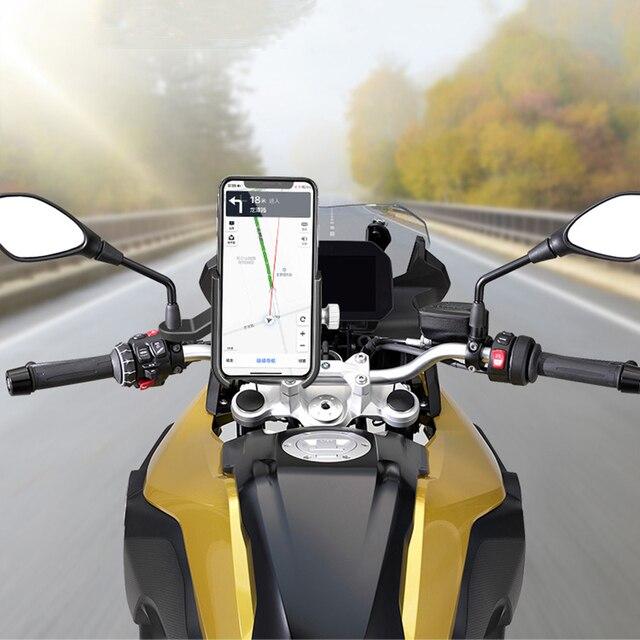 универсальный велосипед мобильный телефон держатель алюминиевый фотография