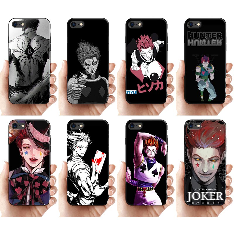 Japan Anime Hunter X hunter Hisoka Phone Case for iPhone 11 pro max 8 7 6 6s Plus X 5s se cases Soft silicone Black Fundas Cover(China)