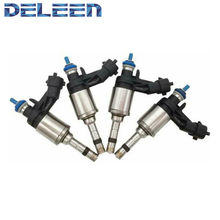 Deleen 4x высокоимпедансный топливный инжектор FJ1097 / 12636111 GDI для Audi автомобильные аксессуары