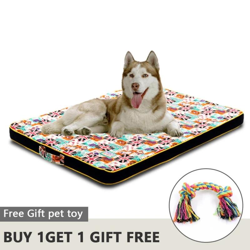 grand chien lit tapis mousse a memoire respirant chien lits oxford bas orthopedique matelas lits pour petit moyen grand animal de compagnie