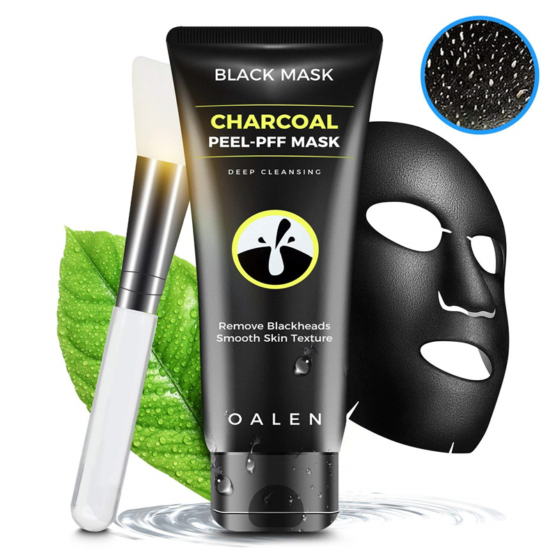 Black Charcoal Facial Mask Peel-off Mask Purifying Deep Cleansing Remove Blackhead Acne Scar Anti Wrinkles  Mask Face Skin Care