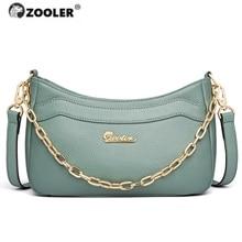 2020 Hot ZOOLER woman bag First genuine leather bags women designer cross body bags famous brands shoulder bag fashion purses