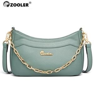 Image 1 - Лидер продаж 2020, женская сумка ZOOLER, первые Сумки из натуральной кожи, женские дизайнерские сумки через плечо, сумка известных брендов, модные кошельки