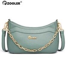 2020 ホットzooler女性バッグ最初の本革バッグの女性デザイナークロスボディショルダーバッグ有名なブランドのショルダーバッグファッション財布