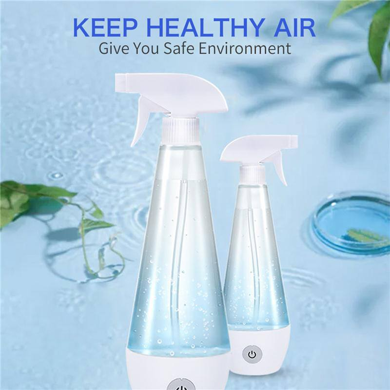 Portable Household Sterilization Soap Dispenser Cleaning Disinfection Sodium Chlorate 84 Disinfection Water Making Machine