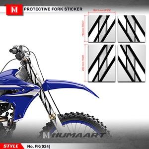 Image 1 - HUMAARTสิ่งสกปรกจักรยานส้อมด้านหน้าหลอดกราฟิกส้อมWrap Motocrossสติกเกอร์PVCไวนิลDecalชุดสำหรับMX Dirt Bike Offแผนที่รถจักรยานยนต์
