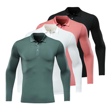 New golf wear breathable long sleeve golf shirt 4 colors shirt S-XXL in choose golf clothes shirt new arrival men summer golf shirt 5 colors golf sports clothes s xxl men jersey leisure golf polo shirt tops