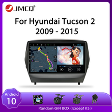 Jmcq Voor Hyundai Tucson 2 Lm IX35 2011-2014 Autoradio Android 9.0 Speler Multimedia Video Spelers 2din Stereos dsp Split Screen