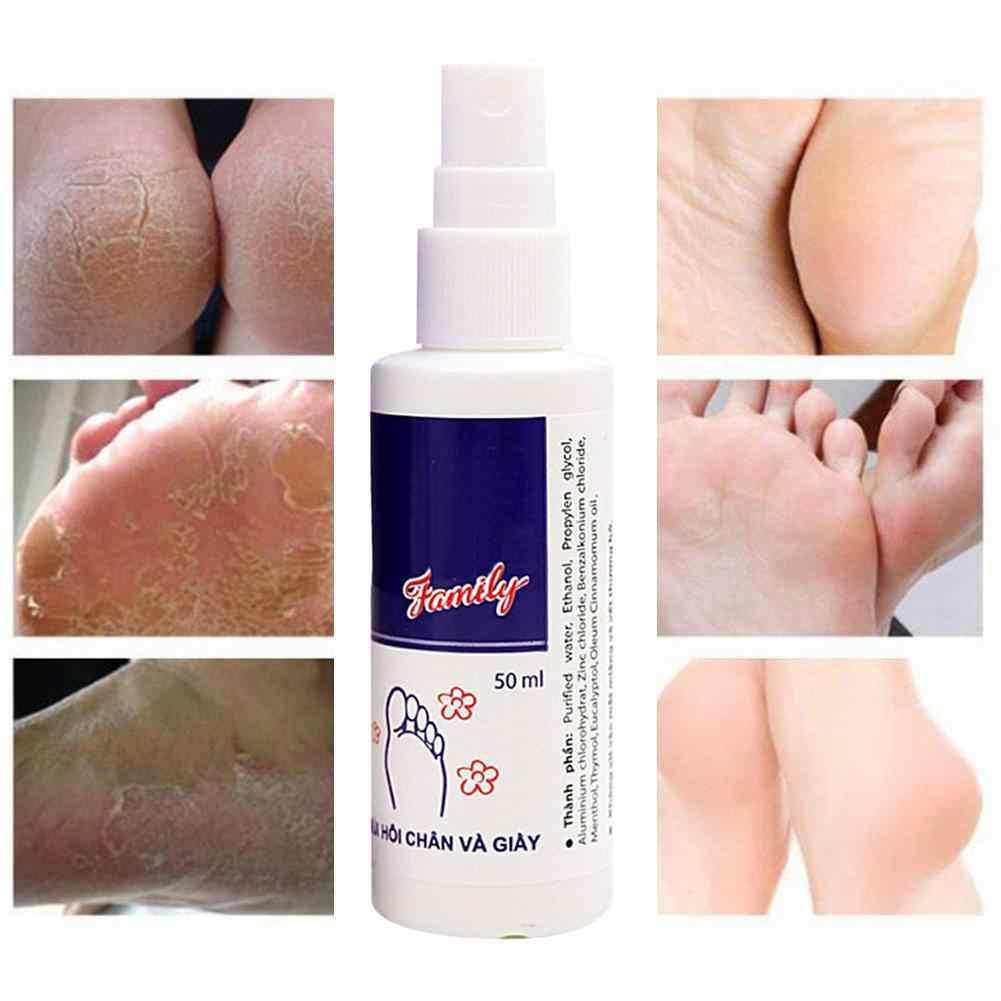 Désodorisant de jet d'odeur de déodorant de pied et de chaussure de 50ML élimine le déodorant Anti-bactérien anti-fongique de chaussures de pied de mauvaise odeur